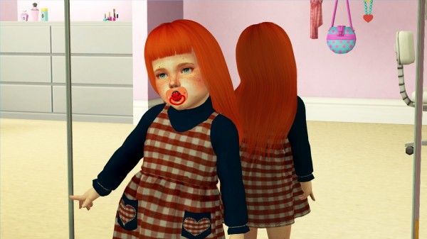 Coupure Electrique: Nightcrawler Venom hair retextured toddlers and kids wersion for Sims 4
