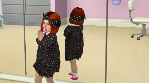 Coupure Electrique: Nightcrawler`s Icon hair retextured   kids and toddlers version for Sims 4