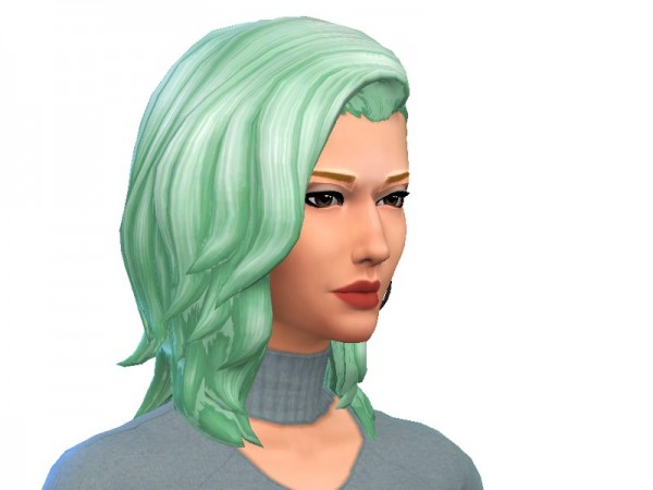 The Sims Resource: Movie Hangout hair recolored by HeyItsGarret for Sims 4