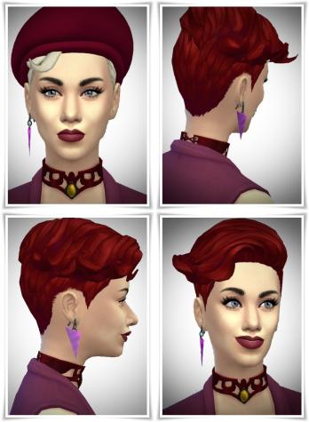 Birksches sims blog: Lisa E.Hair for Sims 4