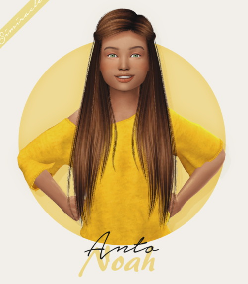 Sims 4 Hairs Simiracle Anto Noah Hair Retextured Kids
