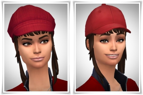Birksches sims blog: Creative Bangs hair for Sims 4