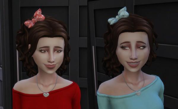 Mystufforigin: Leonora Hair V2 for Sims 4