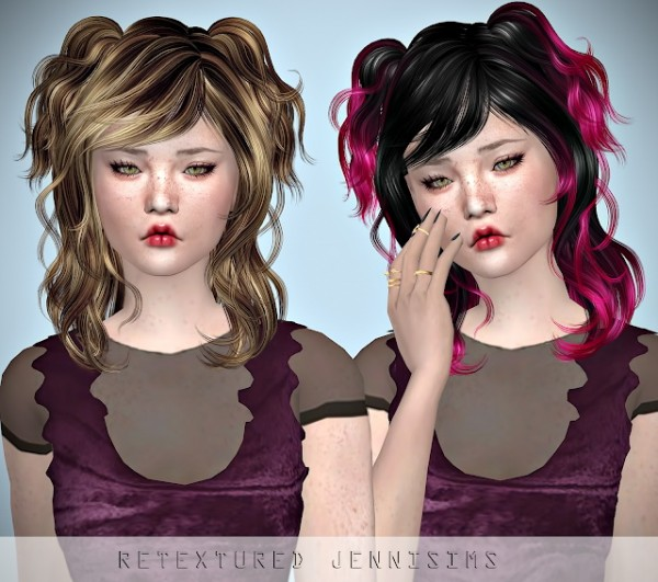 Jenni Sims: Newsea`s Chihuahua hair retextured for Sims 4