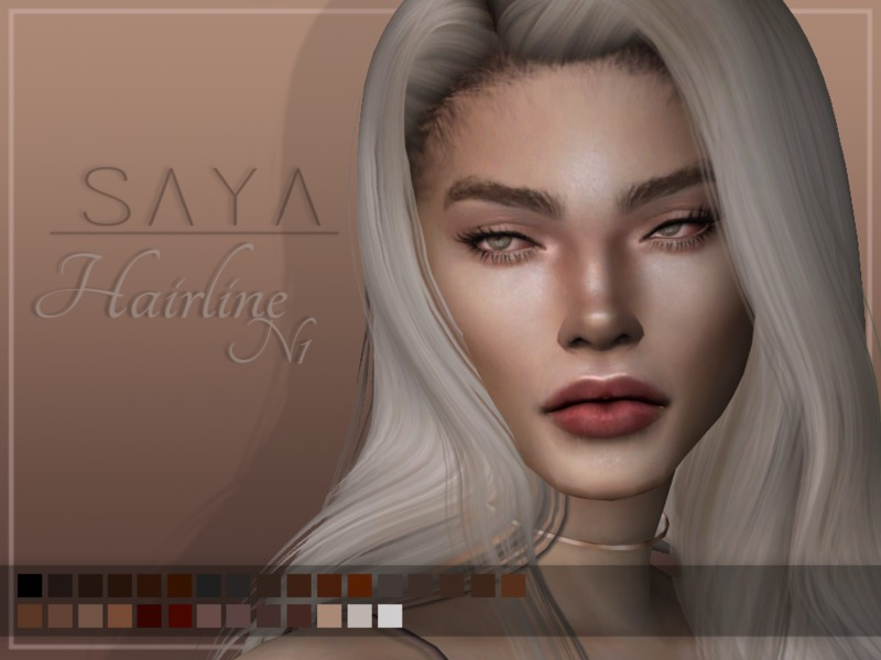 E-girl make-up collection at Praline Sims » Sims 4 Updates