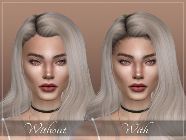 The Sims Resource: Hairline N1 by SayaSims for Sims 4