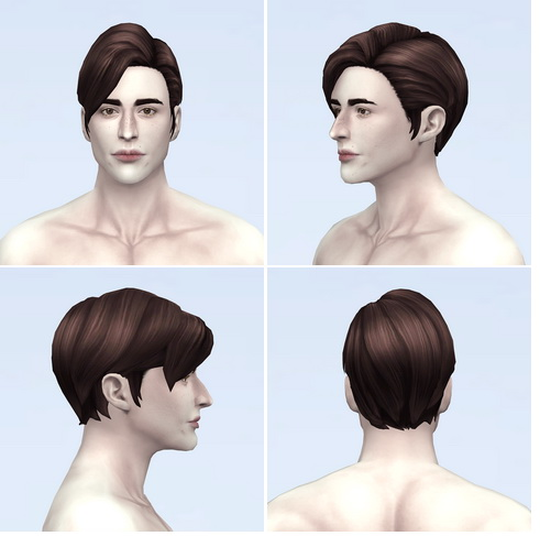 Rusty Nail: Monaco M hair retextured for Sims 4