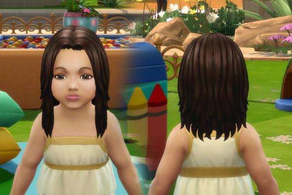 Mystufforigin: Dynamic Hair for Toddlers for Sims 4