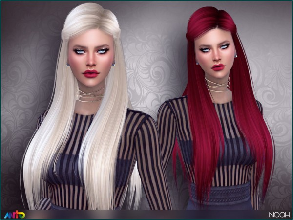 The Sims Resource: Noah hair by Anto for Sims 4
