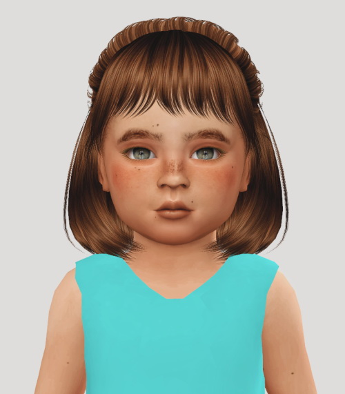 Simiracle: Anto`s Dakota hair retextured   Kids and Toddlers for Sims 4