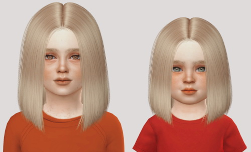 Simiracle: LeahLillith`s Polly hair retextured for Sims 4