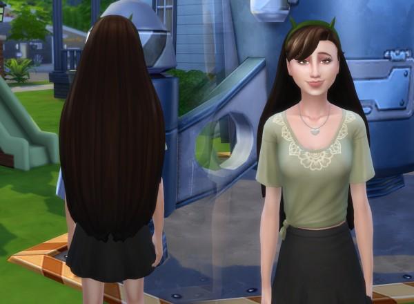 Mystufforigin: Star Hair for Sims 4