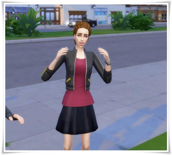 Birksches sims blog: Michael J Hair vers.2 retextured for Sims 4