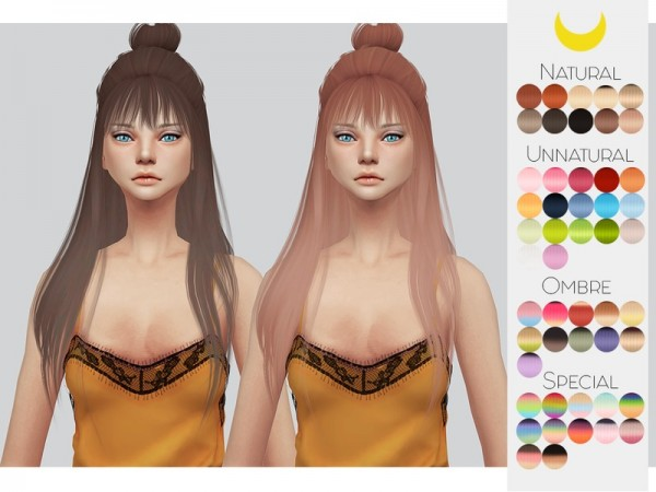 The Sims Resource: Leahlillith`s Dusty Cloud hair retextured for Sims 4