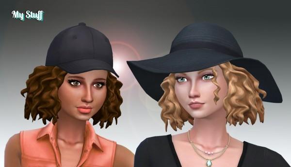 Mystufforigin: Leahlillith`s Ophelia hair retextured for Sims 4