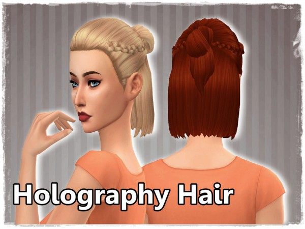 Mikerashi: Holography Hair for Sims 4
