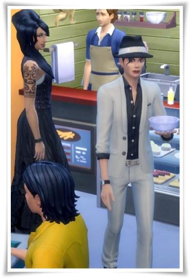 Birksches sims blog: Michael J. Hair for Sims 4