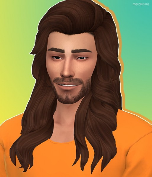 Merakisims: Kayn hair for Sims 4