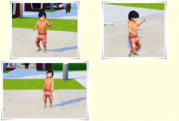 Birksches sims blog: Curly Bangs hair for Sims 4