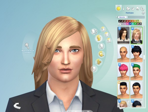 Mystufforigin: Daniel hair for Sims 4
