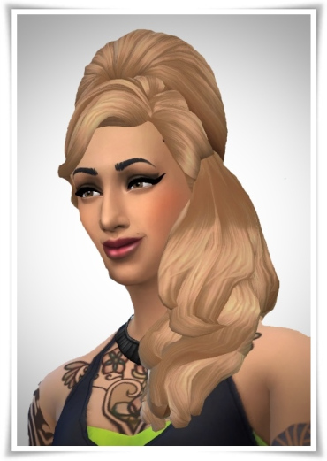 Birksches sims blog: New Amy Hair for Sims 4