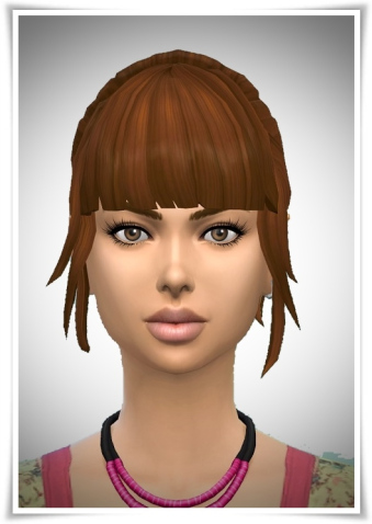 Birksches sims blog: Sweet Sixteen Ponytail hair for Sims 4
