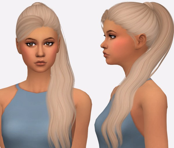 Simista: Gigi Hair Recolour for Sims 4
