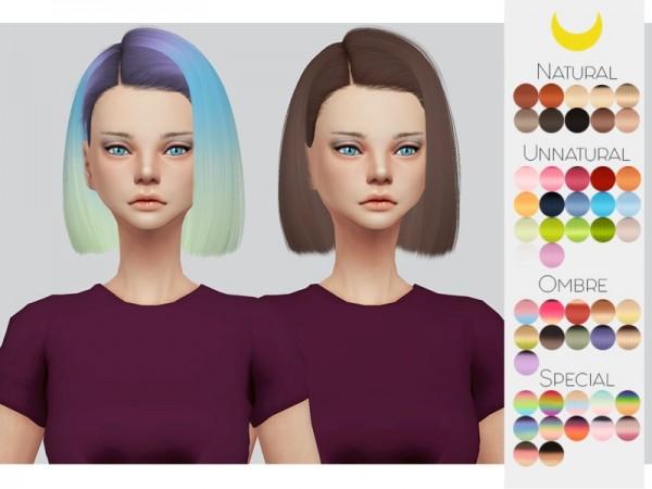 The Sims Resource: Leahlillith`s Farah hair retextured by Kalewa a for Sims 4
