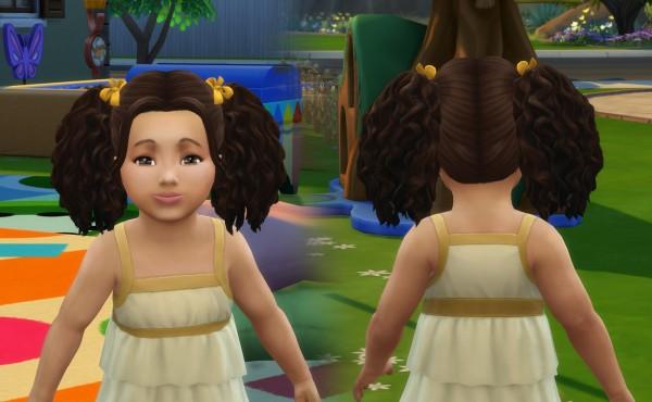 Mystufforigin: Poppy Hair for Sims 4