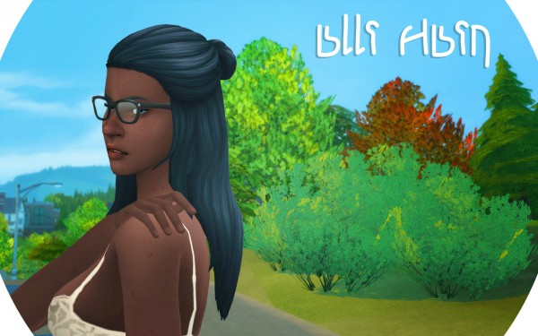 Mod The Sims: Alli Hair by dogsill for Sims 4