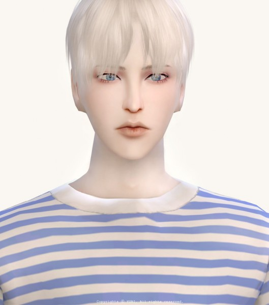 Twinklestar: Hair 12 retextured for Sims 4