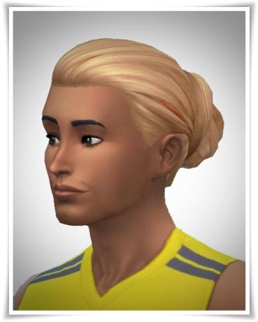 Birksches sims blog: Gents Hair Bun for Sims 4