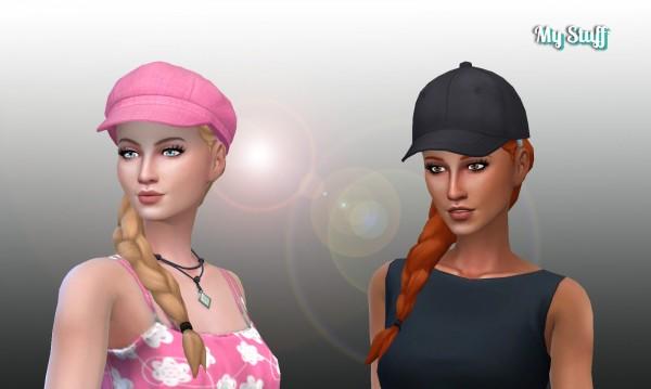 Mystufforigin: Grace Hair for Sims 4