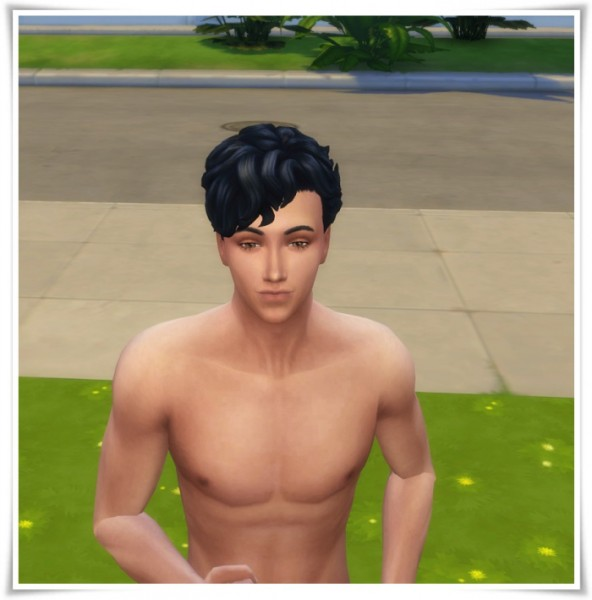 Birksches sims blog: My First Curls hair for Sims 4