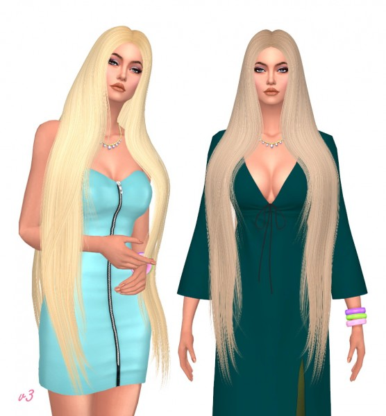 Sims Fun Stuff: LeahLillith`s No Fraud hair retextured for Sims 4