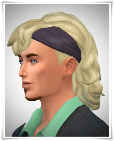 Birksches sims blog: Tennis Hair Male for Sims 4