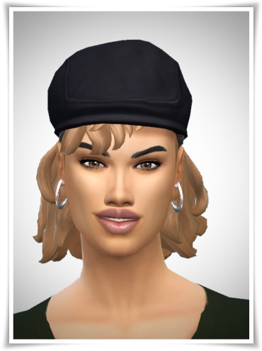 Birksches sims blog: Tennis Hair for her for Sims 4
