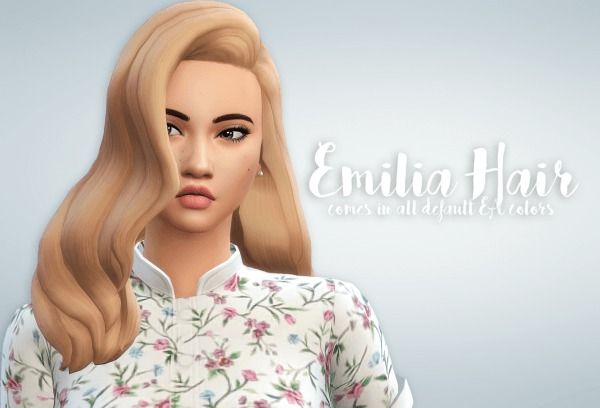 Ivo Sims: Emilia hair for Sims 4