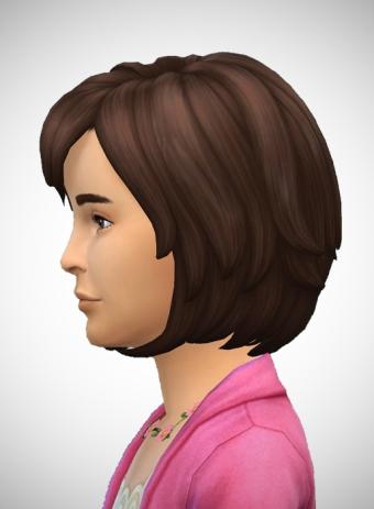 Birksches sims blog: Wavy Bob Girls for Sims 4