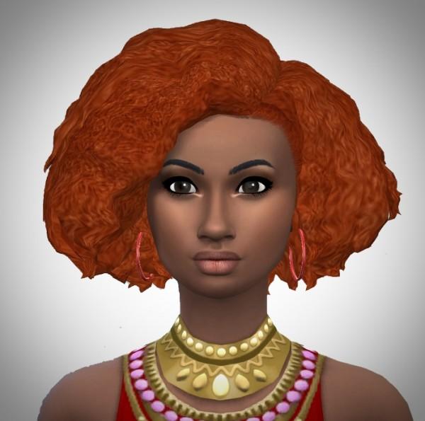 Birksches sims blog: Pretty Women Curls hair for Sims 4