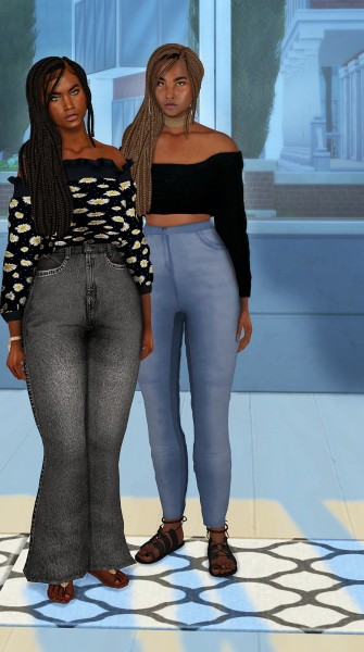 Coupure Electrique: Diva hair for Sims 4