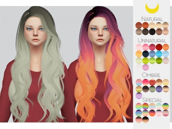 The Sims Resource: Stealthic`s Prisma hair retextured by kalewa a for Sims 4