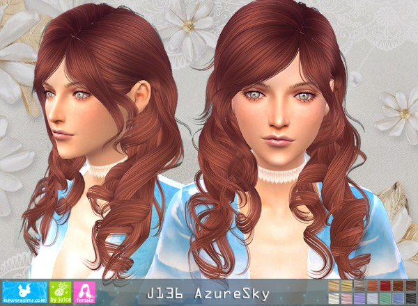 NewSea: J136 Azure Sky for Sims 4