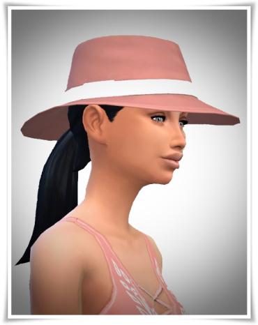 Birksches sims blog: LadyFu Ponytail hair for Sims 4