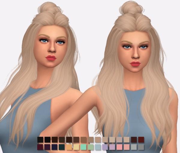 Simlish Designs: Wings Hair OS0520 hair Retextured for Sims 4
