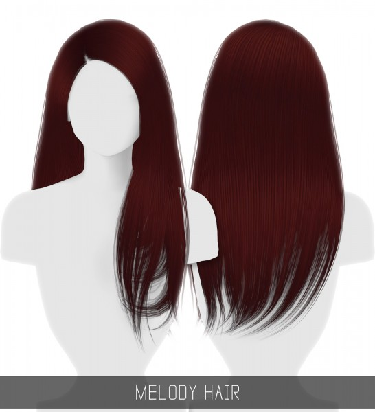 Simpliciaty: Melody hair for Sims 4
