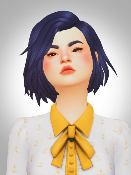 Kismet Sims: Clods hair for Sims 4