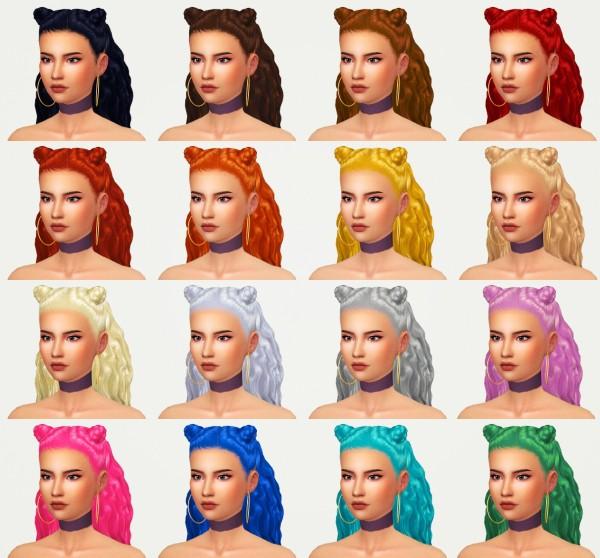 Kot Cat: Nea hair for Sims 4