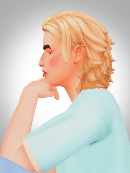Kismet Sims: Teddy hair for Sims 4