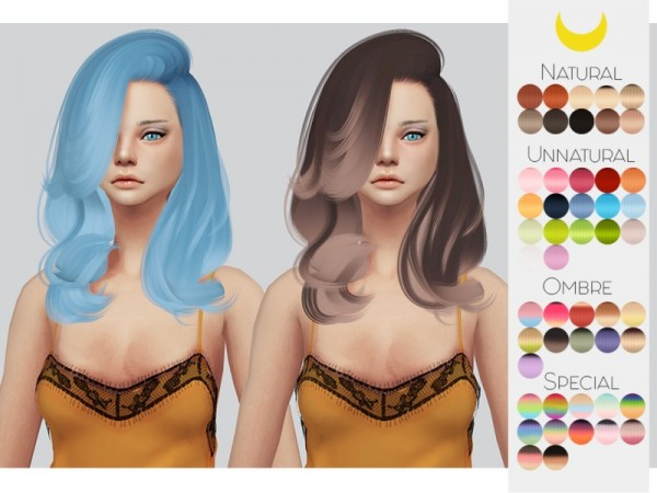 The Sims Resource: Stealthic`s Erratic hair retextured by kalewa a for Sims 4